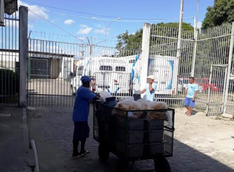Ela preparava a alimentação dos detentos e funcionários do Cojunto Penal
