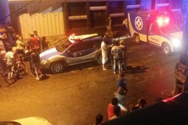 Servidor público Sidnei Tavares Teixeira morreu no local do crime - Foto: Reprodução   Blog do Anderson