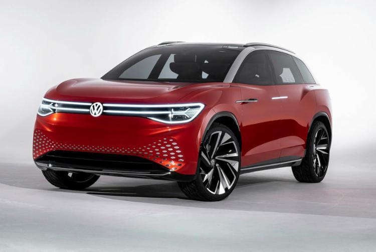 O futuro SUV de sete lugares e de emissão zero da Volks será lançado na China em 2021. O Room Z também tem nível 4 de autonomia (de um máximo de 5)