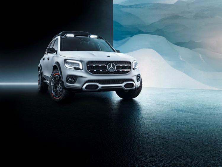 A marca alemã leva a Xangai seu inédito SUV médio de sete lugares ainda como protótipo, mas que dá toda a pinta de versão definitiva