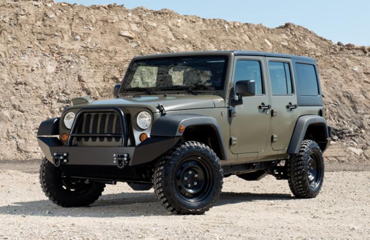 Jeep J8: Estado norte-americano - Foto: Divulgação