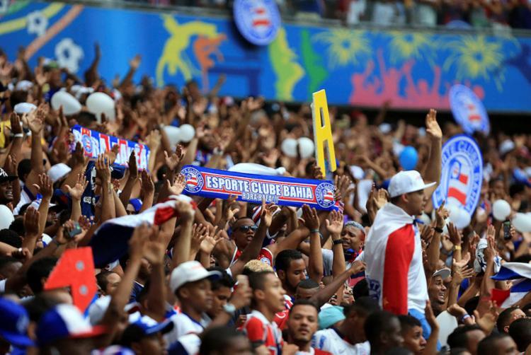 Na série A do Brasileirão, Bahia só perdeu duas na Fonte Nova - Foto: Divulgação | Felipe Oliveira | EC Bahia