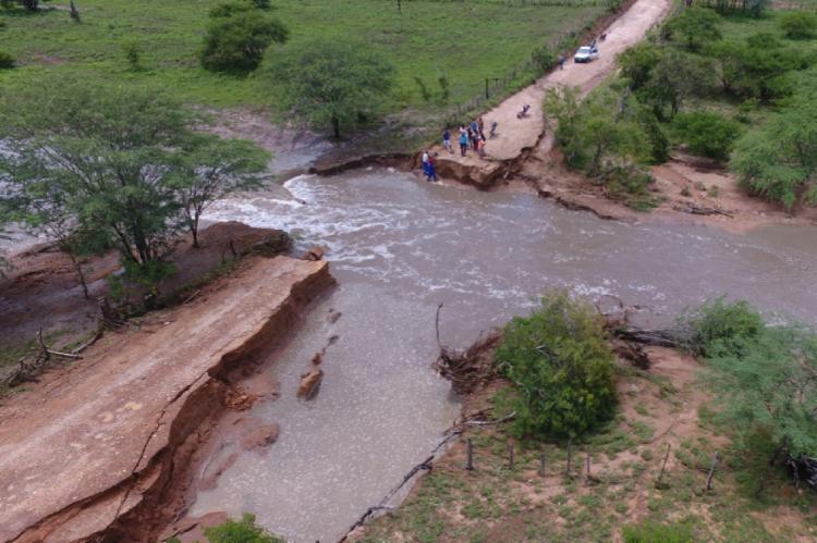 Município deve decretar nesta quarta emergência por causa das chuvas - Foto: Reprodução