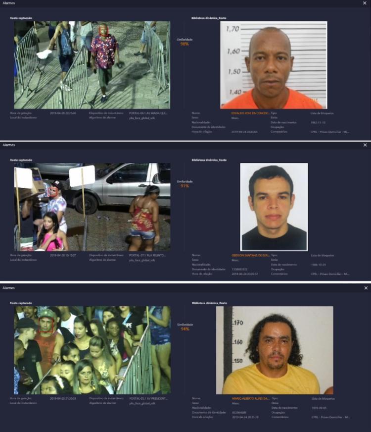 Dentre os suspeitos estão pessoas com mandados por homicídio e tráfico de drogas