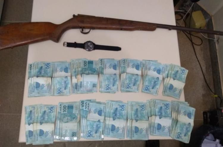 A dupla teria roubado a quantia no povoado de Juremal - Foto: Divulgação | SSP-BA