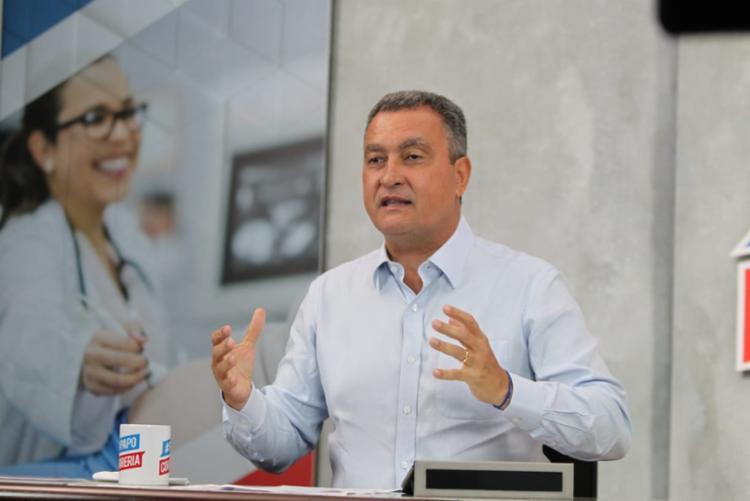 A informação foi divulgada pelo governador Rui Costa durante a transmissão do