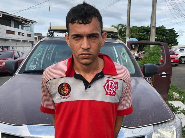 Rodrigo foi identificado e apresentado na 22ª Delegacia Territorial - Foto: Divulgação | SSP-BA
