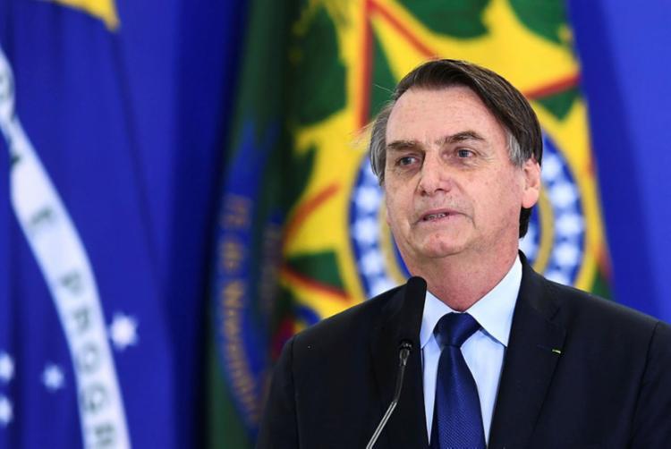 A mensagem de Bolsonaro dizia ainda que a ideia é um plano do novo ministro da Educação - Foto: Evaristo Sa | AFP