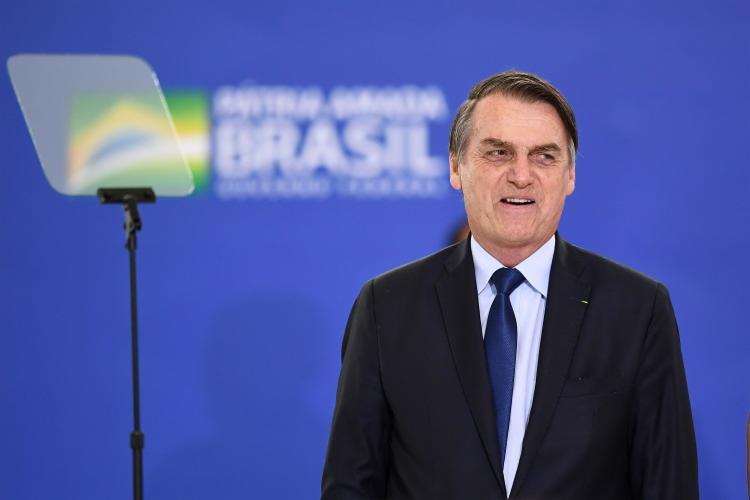 Durante a corrida eleitoral, Lei Rouanet foi um dos pontos bastantes criticados pelo presidente - Foto: Evaristo Sa | AFP
