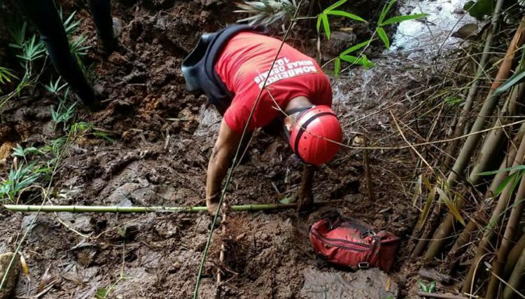 Desde que a barragem se rompeu cerca de 232 corpos já foram resgatados - Foto: Corpo de Bombeiros | Divulgação