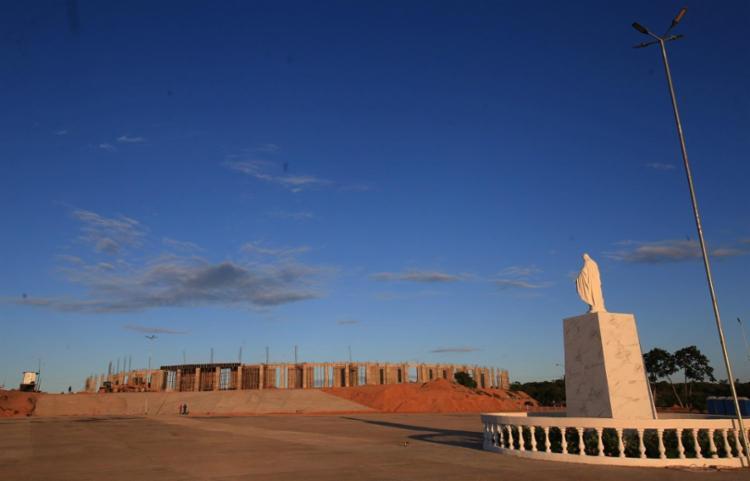 O projeto prevê dez capelas, um santuário e uma pousada numa área de um milhão de metros quadrados - Foto: Adilton Venegeroles / Ag. A TARDE