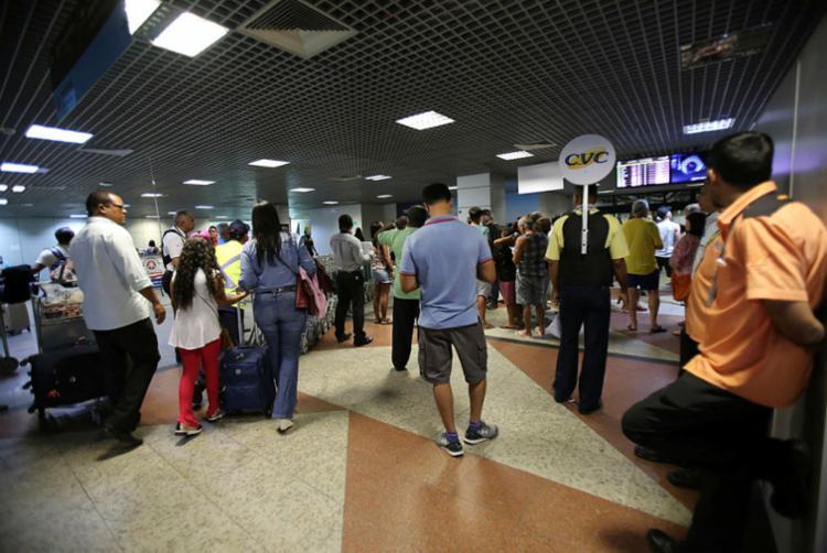 O problema da oferta de voos também vem ocasionando mais dificuldades na captação de turistas - Foto: Margarida Neide | Ag. A TARDE