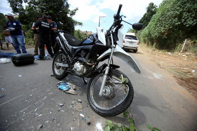 Região concentrou 35% das indenizações por morte e invalidez permanente por acidentes com motocicletas - Foto: Adilton Venegeroles | Ag. A TARDE