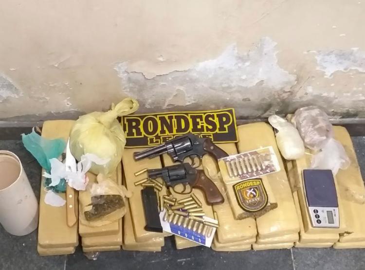 Materiais foram encaminhados para a Central de Flagrantes da cidade - Foto: Divulgação   SSP