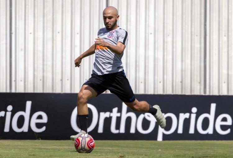 No Corinthians desde fevereiro, meia ainda não entrou em campo pelo Timão - Foto: Daniel Augusto Jr | Ag. Corinthians