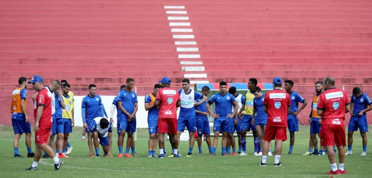 O técnico comandou sua terceira atividade no Tricolor - Foto: Felipe Oliveira | EC Bahia
