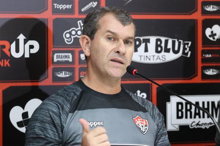 Treinador quer elenco forte para disputar o restante da temporada - Foto: Maurícia da Matta | EC Vitória