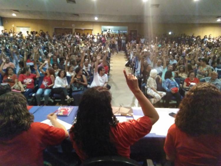 A decisão dos professores começa a valer a partir da próxima segunda-feira, 8 - Foto: Divulgação   Ascom Aduneb