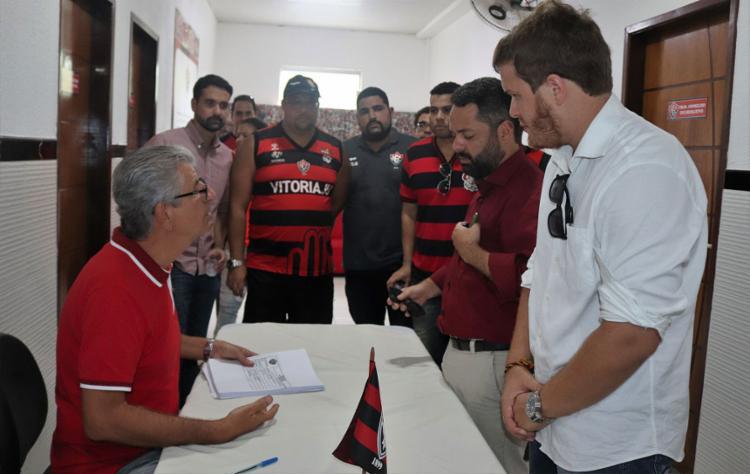 O prazo para as inscrições da chapas terminou nesta quarta-feira, 10 - Foto: Maurícia da Matta l EC Vitória