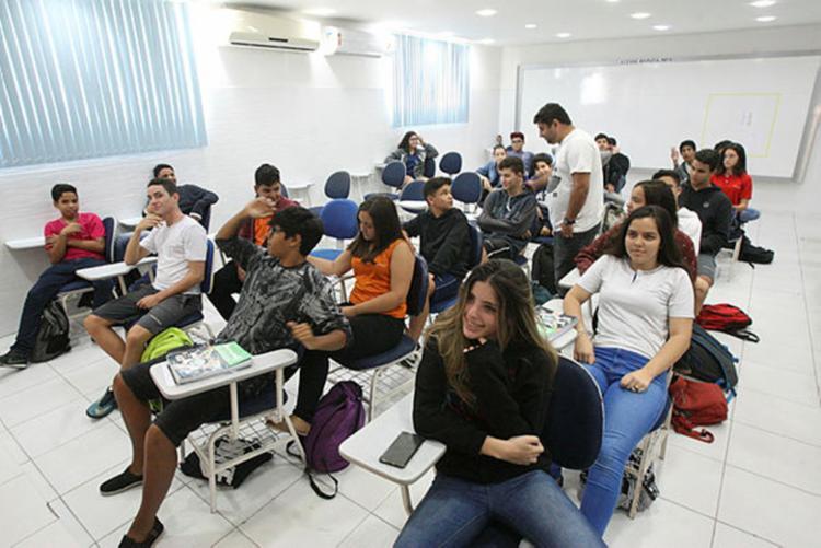 Novo modelo de ensino será implementado nas escolas do país até 2021 - Foto: Luciano da Matta | Ag. A Tarde