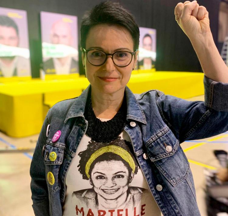 Maria foi eleita pelo partido Esquerda Republicana da Catalunha - Foto: Reprodução | Twitter