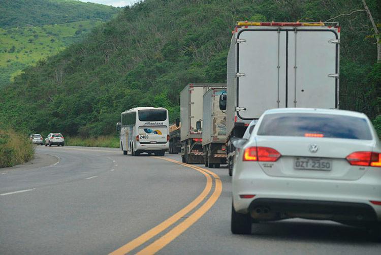Cerca de 73 Km da rodovia passaram por processo de restauração - Foto: Shirley Stolze   Ag. A TARDE