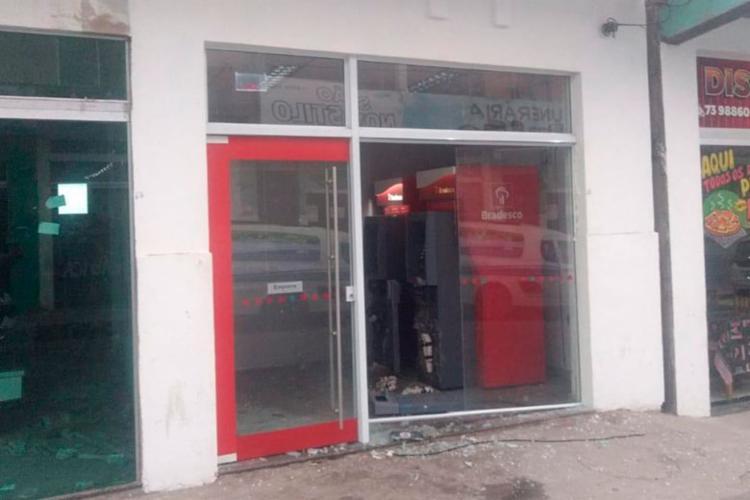 Polícia chegou ao local no momento que suspeitos estavam colocando explosivos - Foto: Divulgação | SSP-BA