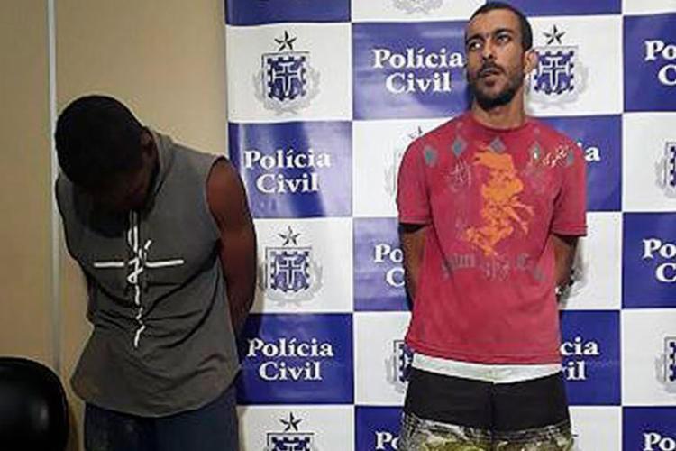 Alex Pereira e Adriano Santos são suspeitos de tentarem matar fisioterapeuta - Foto: Euzeni Daltro | Ag. A TARDE