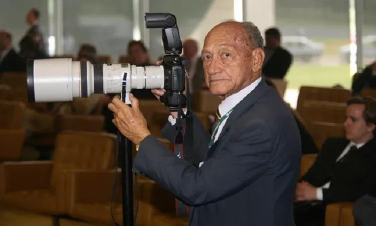Até 2015, Gervásio Baptista fotografava no Supremo Tribunal Federal - Foto: Reprodução