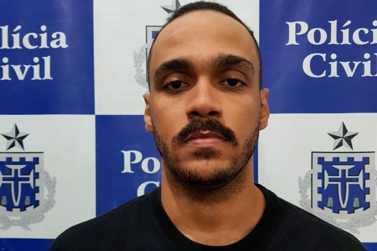 Pierre Ferreira é suspeito de liderar esquema de tráfico 'delivery' - Foto: Divulgação   Polícia Civil