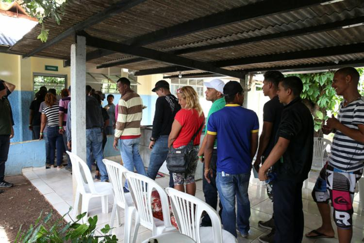 O governo brasileiro mantém, em alojamentos, 8.500 venezuelanos refugiados - Foto: Antônio Cruz | Agência Brasil
