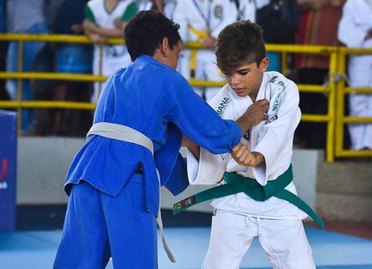 O judoca Ricardo Góes se destacou ao vencer seus três combates por ippon - Foto: Divulgação | EC Vitória