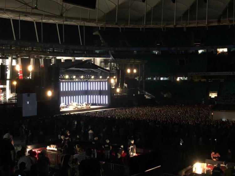 Fãs cantaram com a banda sucessos da carreira do grupo - Foto: Kirk Moreno | Divulgação