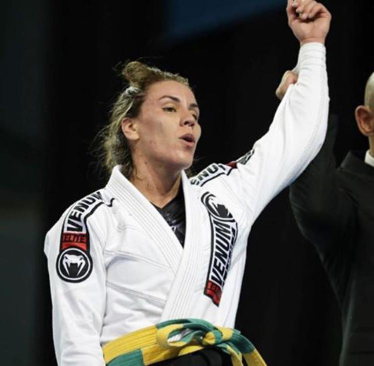 Luiza Monteiro conquistou o ouro no Pan 2019 da IBJJF - Foto: Reprodução   Instagram