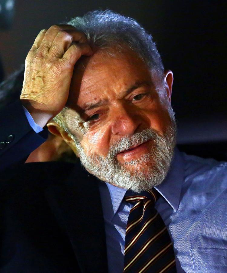 Lula está preso na carceragem da Polícia Federal (PF), em Curitiba, desde 7 de abril do ano passado - Foto: Heuler Andrey l AFP