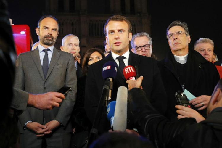 """Presidente francês disse que o """"pior foi evitado"""" - Foto: Philippe Wojazer l AFP"""