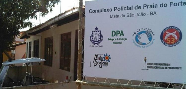 O suspeito foi apresentado na Delegacia de Proteção Ambiental da Praia do Forte - Foto: Reprodução
