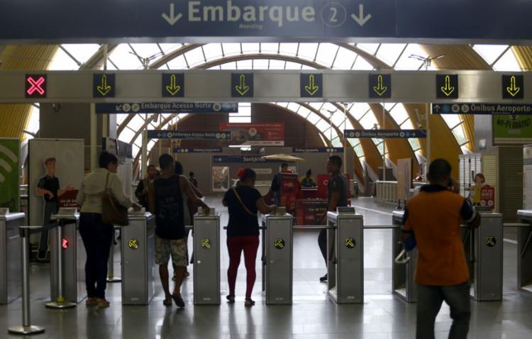 O governo do estado informou que a passagem do metrô está em estudo por técnicos - Foto: Joá Souza l Ag. A TARDE l 25.03.2019