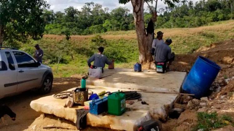 A inspeção foi realizada na manhã desta quarta-feira, 24, e encontrou diversas irregularidades - Foto: Divulgação   MPT