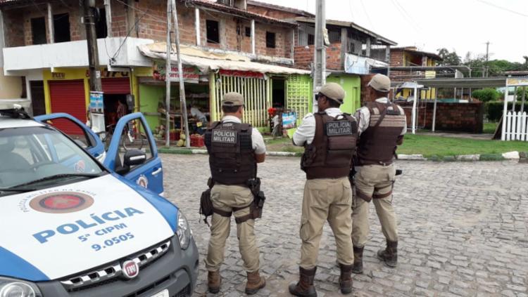 Comércio fechou após boatos de ordem de traficantes para fechar os estabelecimentos - Foto: Divulgação | SSP