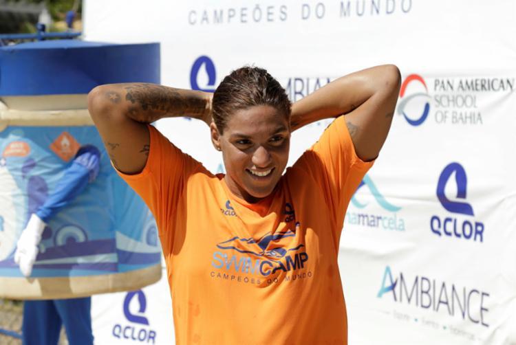 Marcela vai participar do mundial na Coreia do Sul, em Gwangju - Foto: Gilberto Junior | Ag. A TARDE