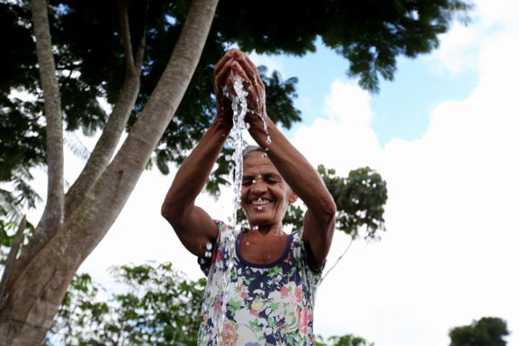 O Sistema de Abastecimento de Água do município de Laje beneficia 843 pessoas de 159 residências - Foto: Paula Fróes/GOVBA