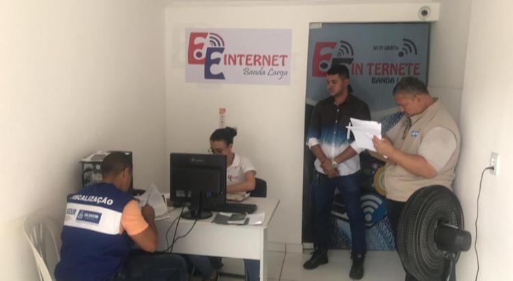 A ação interditou uma das quatro unidades da empresa - Foto: Divulgação | Secom