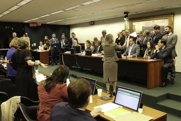 O deputado Delegado Marcelo Freitas (PSL-MG) apresentou parecer favorável à reforma da Previdência na CCJ - Foto: Fabio Rodrigues Pozzebom l Agência Brasil