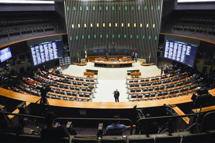 Câmara dos Deputados projeto de lei que anistia multas aplicadas aos partidos - Foto: Antonio Cruz | Agência Brasil