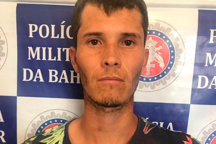 Cícero Vieira foi encontrado pela polícia no povoado da Baixa do Boi - Foto: Divulgação   SSP-BA