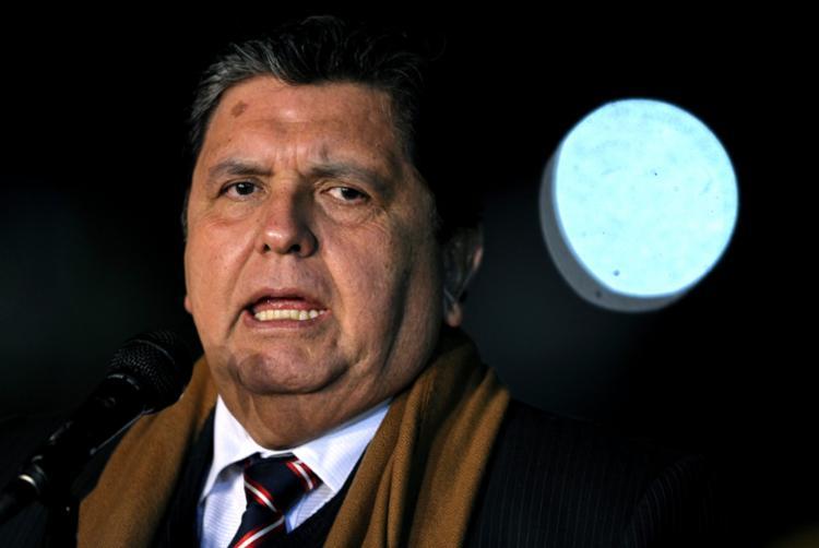 O hospital indicou que García, de 69 anos, tem
