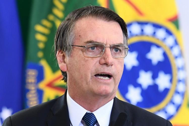Bolsonaro também falou sobre os preços dos combustíveis no País e atribuiu a alta ao ICMS - Foto: Evaristo Sa | AFP