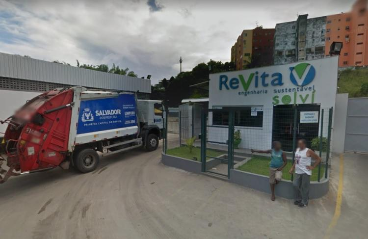 O corpo foi encontrado na manhã desta terça-feira, 16 - Foto: Reprodução | Google Street View