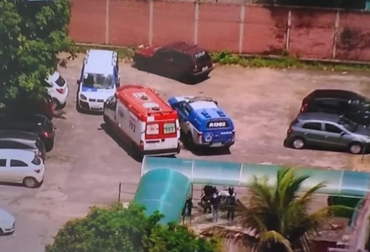 O crime aconteceu no dia 28 de março, no colégio Estadual Edvaldo Brandão, em Cajazeiras IV - Foto: Reprodução